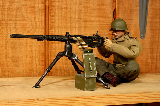 Machine Gun Ammo Box Finished Gun And Ammo Box