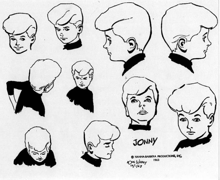 Jonny Quest Coloring Pages | Male sketch, Coloring pages, Humanoid ... | 608x744
